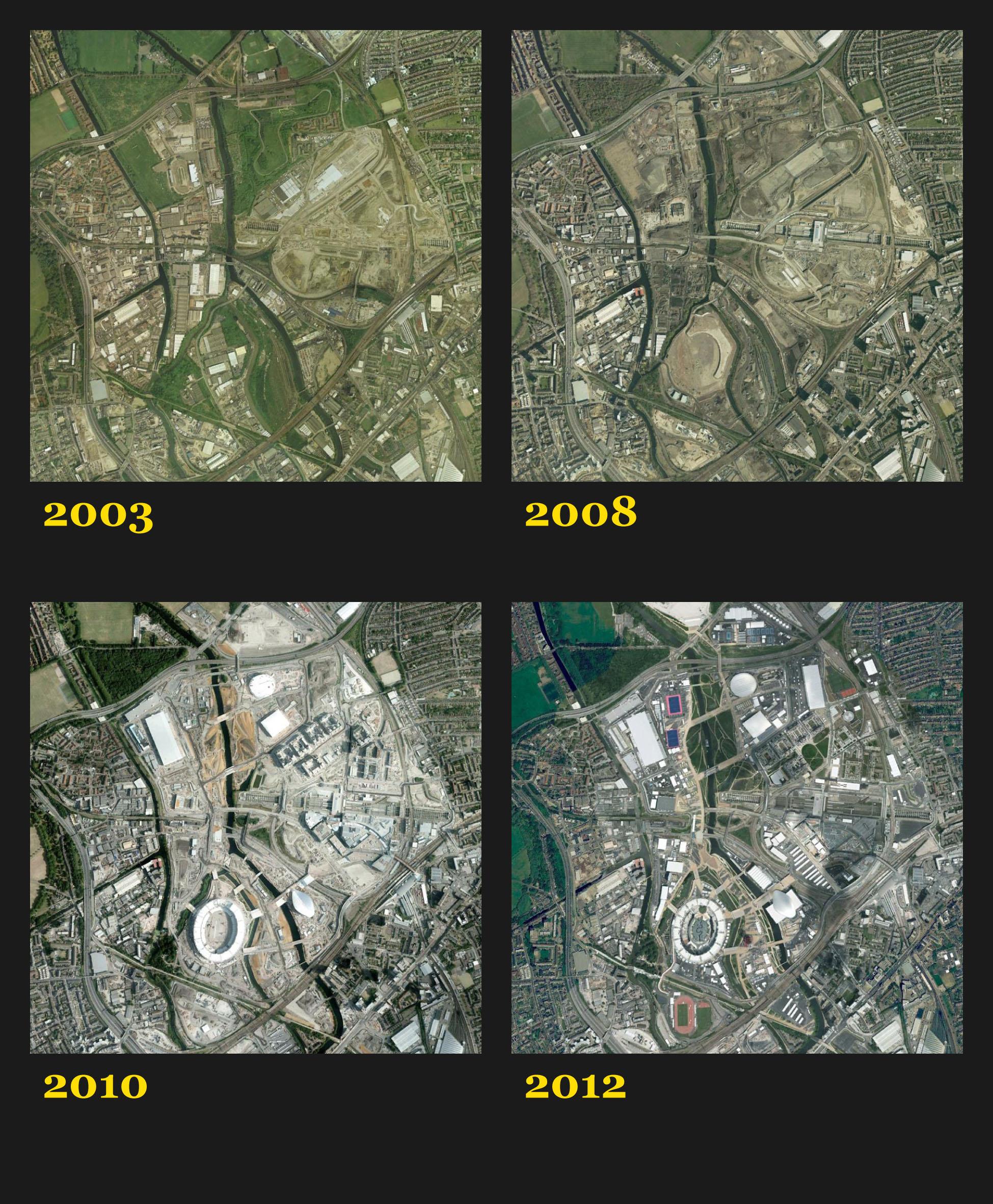 Klik voor een vergroting - © Google Earth